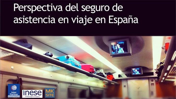 Inese y Marketing Site analizan el Seguro de Asistencia de Viaje en España