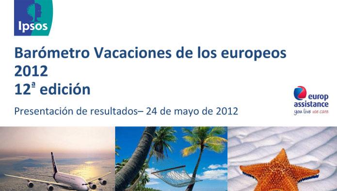 Informe completo del Barómetro Ipsos - Europ Assistance Vacaciones de los Europeos 2012