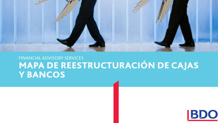 Mapa de reestructuración de Cajas y Bancos