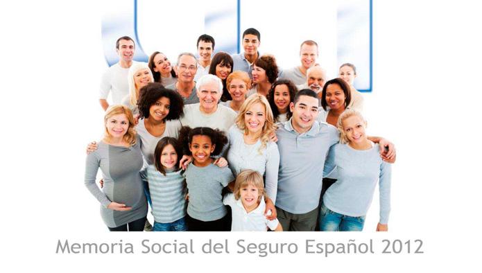 Memoria Social del Seguro Español 2012 de Unespa