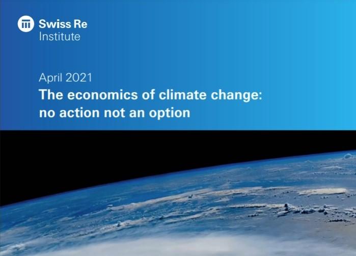 Swiss Re analiza el impacto del cambio climático en la economía mundial