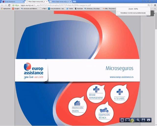 Cómo tarificar la gama de microseguros de Europ Assistance