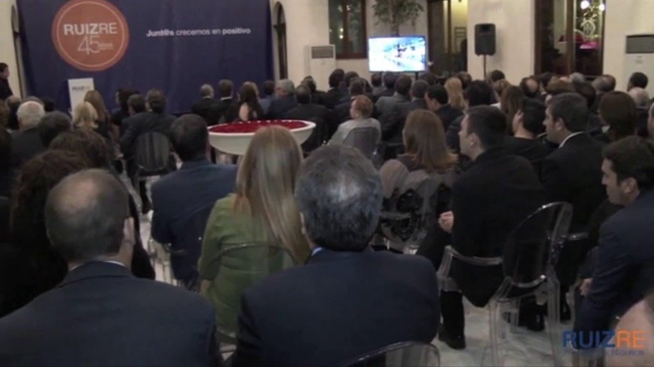 La correduría Ruiz Re celebra su 45 aniversario