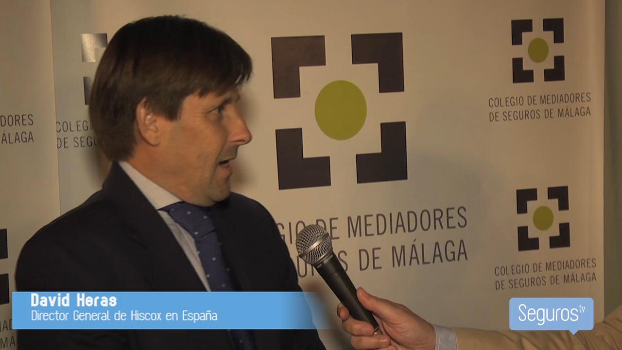 Entrevistamos a David Heras, director general de Hiscox en España