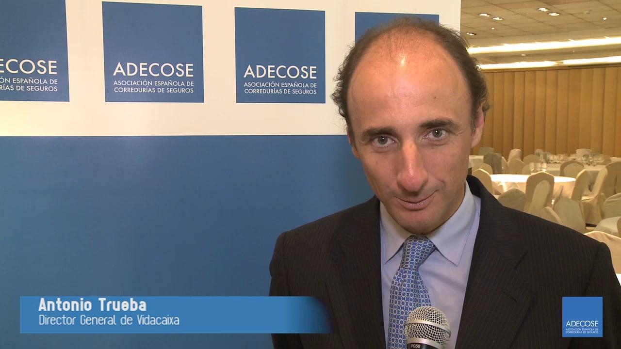 Entrevistamos a Antonio Trueba, director general de Vidacaixa