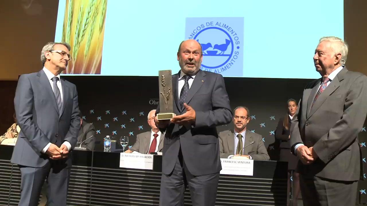 Los Bancos de Alimentos premian la solidaridad de Seguros RGA