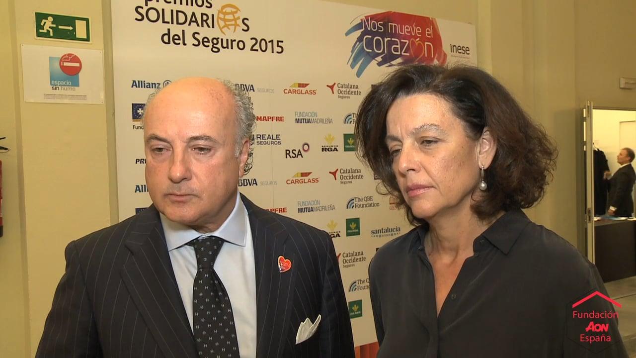 Fundación AON España apoya la labor de Fundación Alalá en los Premios Solidarios 2015