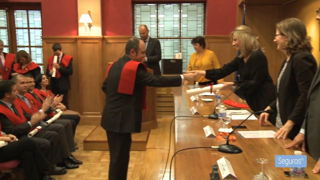 El Colegio de Madrid entrega los diplomas a su promoción 2014/15