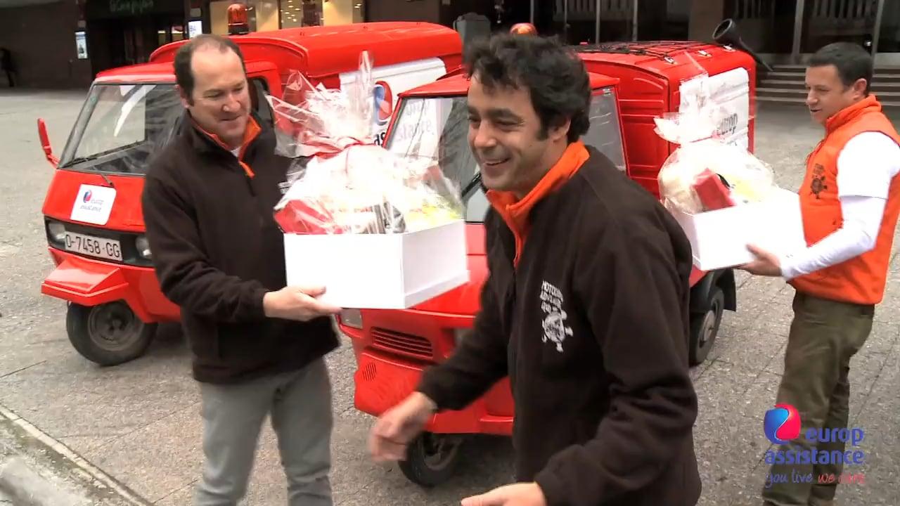 Europ Assistance patrocina la Motocarro Adventure