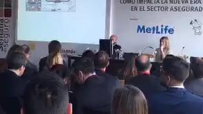 Óscar Herencia interviene en la jornada de MetLife en la XXIII Semana del Seguro