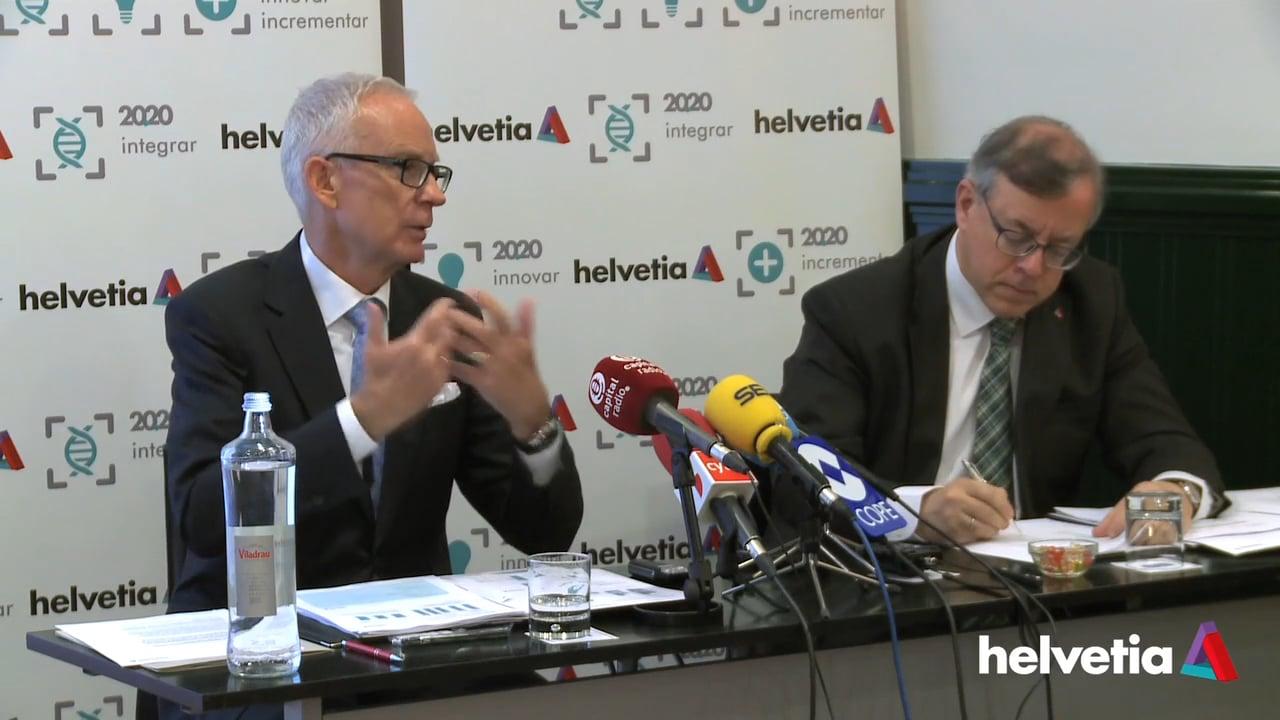 Así será la estrategia de Helvetia Seguros hasta el año 2020