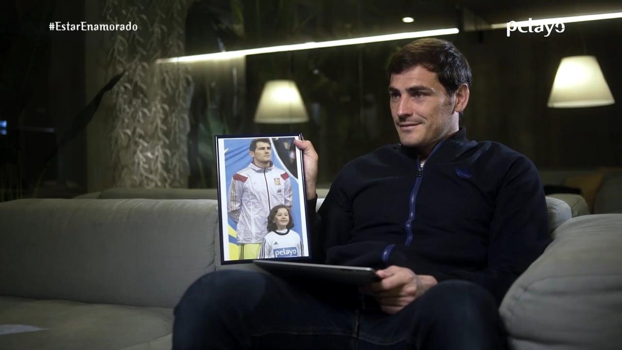 Casillas y Pelayo se unen para homenajear a la Selección con #EstarEnamorado