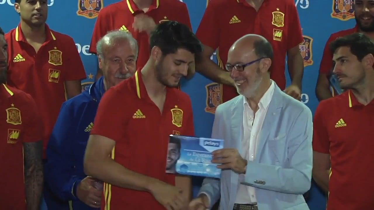 Pelayo asegura a la Selección Española de Fútbol de cara a la EURO 2016