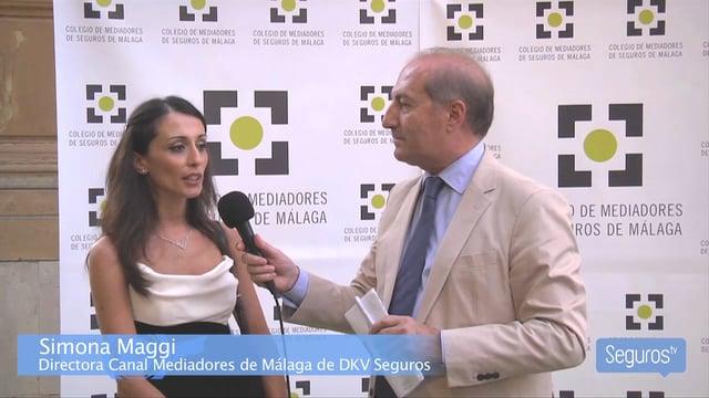 Entrevistamos a Simona Maggi, directora del Canal Mediadores de DKV en Málaga