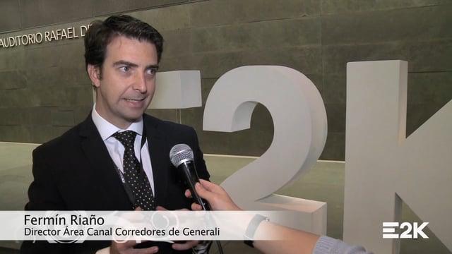 Entrevista a Fermín Riaño, Director Área Canal Corredores de Generali
