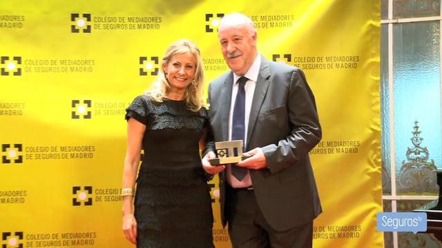 El Colegio de Madrid celebra su 50 aniversario y premia a Zurich y a Vicente del Bosque