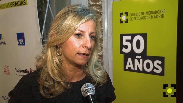 """Elena Jiménez de Andrade: """"Es un hito cumplir 50 años"""""""