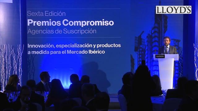 Lloyd´s entrega los VI Premios Compromiso a las agencias de suscripción