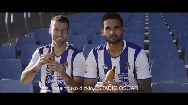 Si eres aficionado de la Real Sociedad y tienes hambre de gol, esta campaña de Reale Seguros te interesa