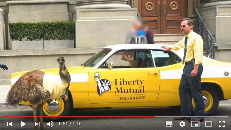 Te mostramos los secretos de la última campaña de publicidad Liberty Mutual