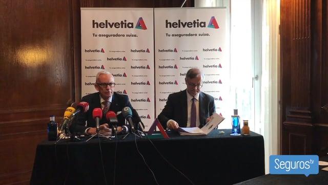 Helvetia Seguros gana un 6,6% más y quiere ampliar su red comercial