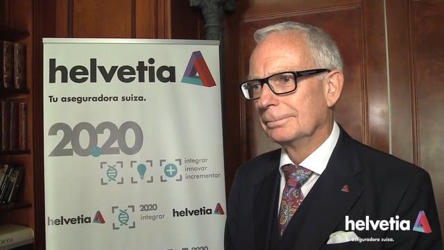 """""""La estrategia Helvetia 20.20 tiene como objetivo responder a las necesidades del cliente"""""""