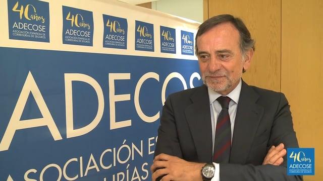 """Martín Navaz: """"Nuestro objetivo es mejorar la imagen del sector asegurador"""""""