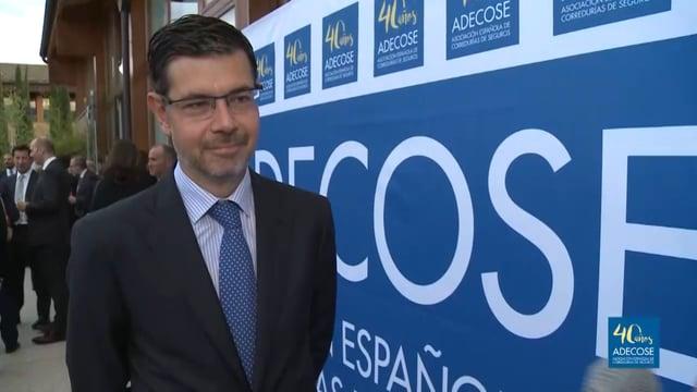 Entrevistamos a Raúl Casado (DGSFP) en el 40 Aniversario de Adecose