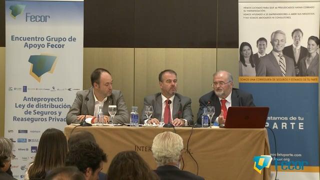 Fecor analiza el impacto del Anteproyecto de Ley de Distribución en su último A debate con corredores
