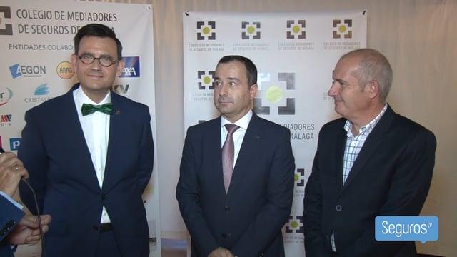 Axa recibe el X Premio Jábega del Colegio de Málaga