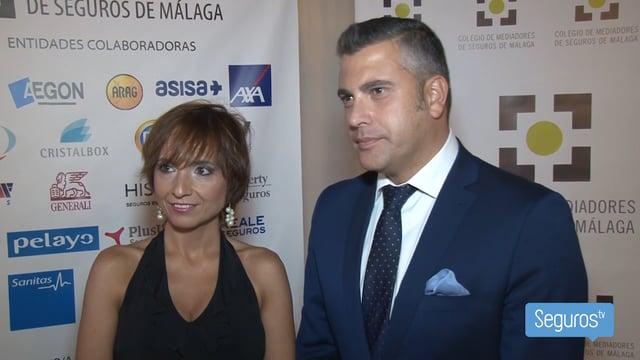 Trinidad Paulano recibe la beca DKV al Mejor Alumno del Colegio de Málaga