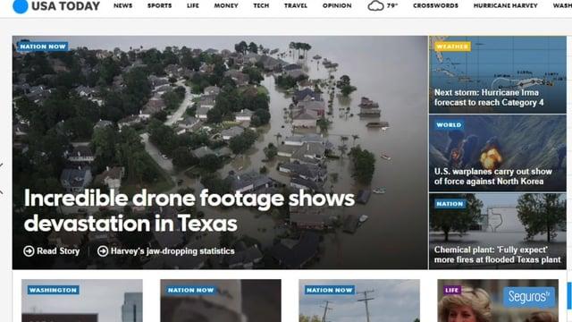 Los huracanes Harvey e Irma marcan la actualidad internacional del seguro