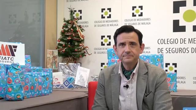 El Colegio de Málaga pone en marcha la IV Campaña Solidaria de Navidad