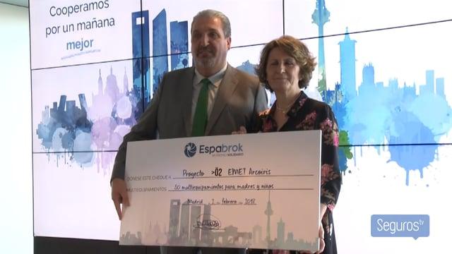 Espabrok entrega su VI Premio Solidario a la Fundación EMET Arcoiris