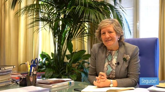 Entrevistamos a Pilar González de Frutos, presidenta de Unespa