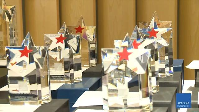 Todos los galardonados en los Premios Estrella Adecose 2018 están en este vídeo