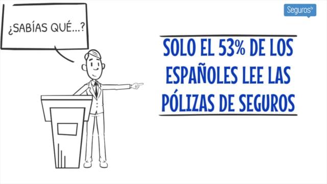 ¿Sabías que sólo el 53% de los asegurados lee las pólizas?