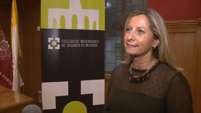 Entrevista a Elena Jiménez de Andrade, presidenta del Colegio de Madrid