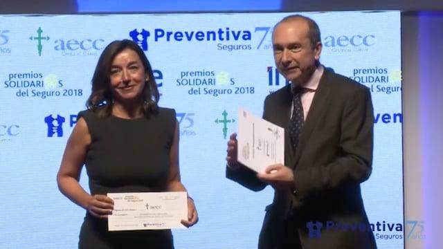 Por si te lo perdiste: Preventiva Seguros apoya a la AECC en los Premios Solidarios 2018