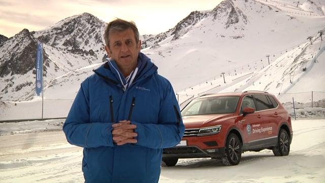 Cinco consejos de Luis Moya y Jordi Gené para conducir en nieve