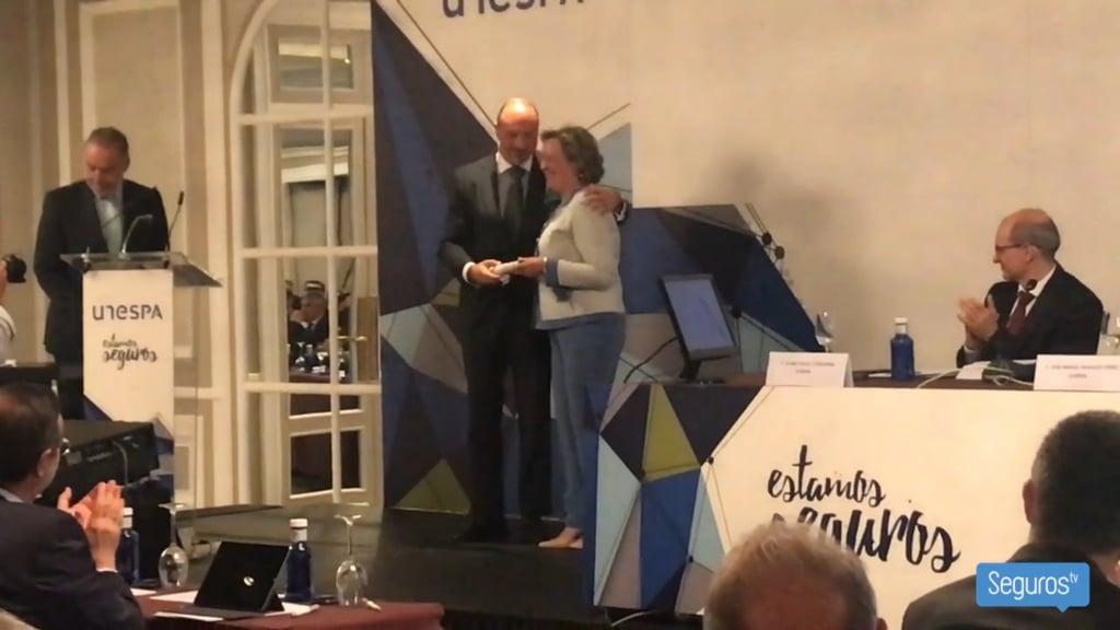 Unespa renueva a Pilar González de Frutos y presenta el Informe Estamos Seguros 2018