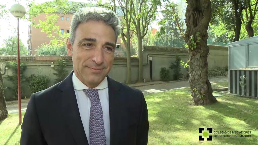"""""""Más del 30% de las primas suscritas en España se hacen en Madrid"""""""