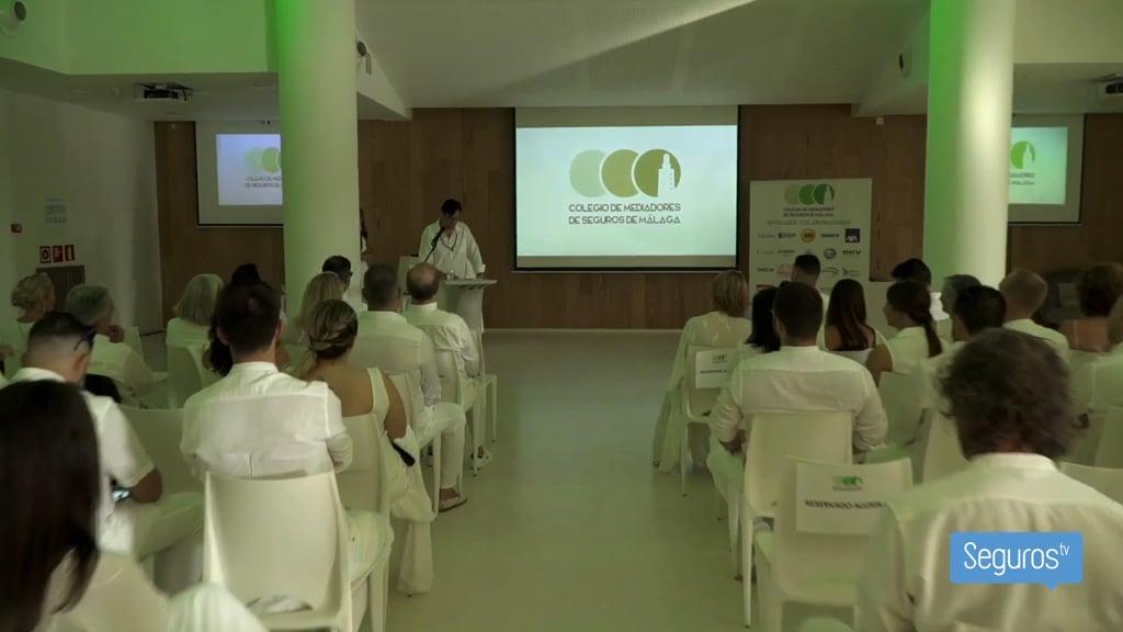 Todo lo que pasó en la Cena de la Patrona del Colegio de Málaga está en este vídeo