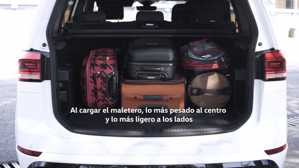 Seguridad vial: Cómo colocar la carga en el maletero