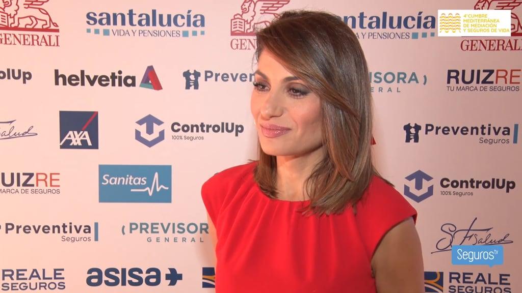 """Susana Ollero: """"Me han hecho sentir una más en el sector asegurador"""""""