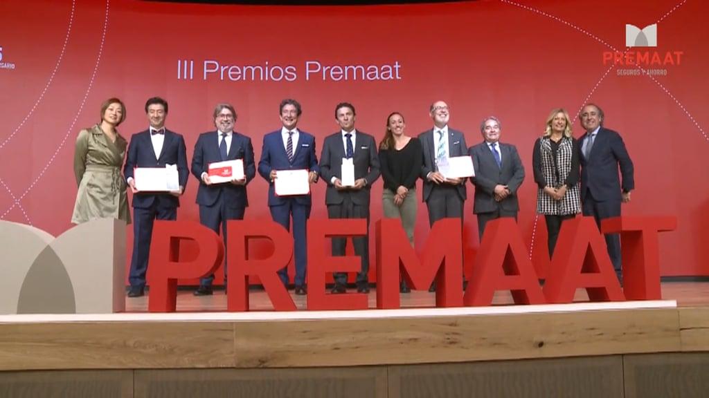 Así fue la entrega de los III Premios Premaat
