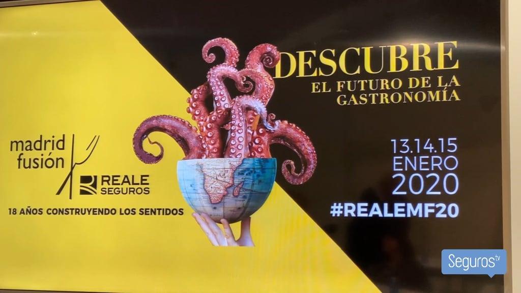 Reale Seguros vuelve a patrocinar Madrid Fusión en su edición de 2020
