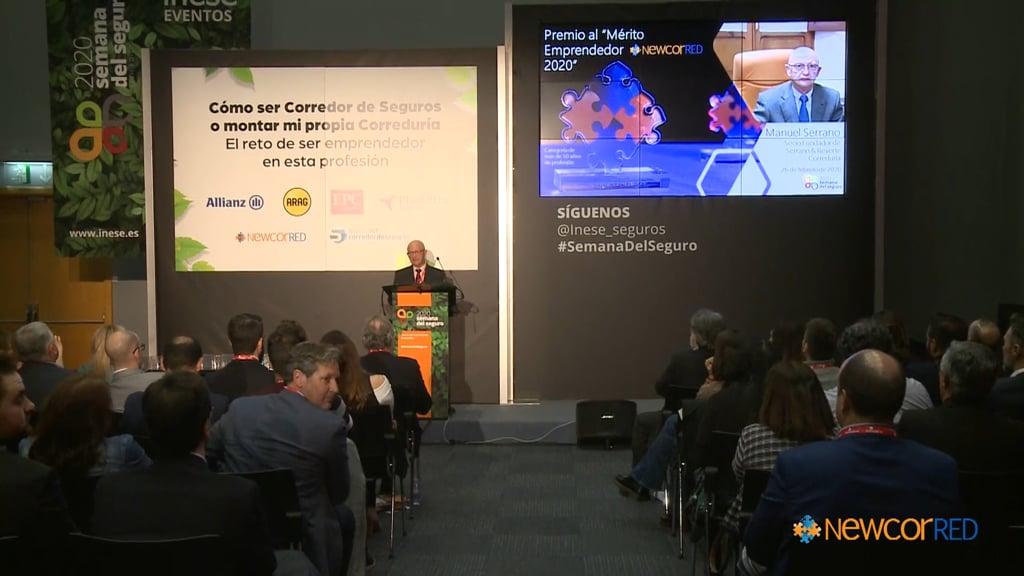 Newcorred entrega sus III Premios al Mérito Emprendedor