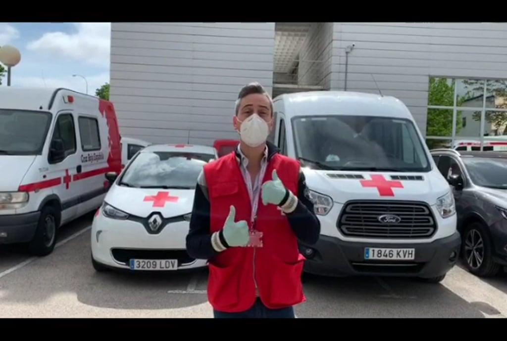 Cruz Roja agradece la ayuda a #CorredoreSegurosContraCovid19