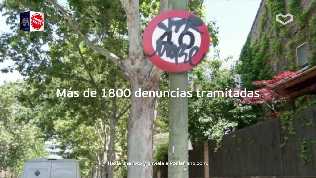 Fundación AXA y Ponle Freno se unen por unascarreteras más seguras